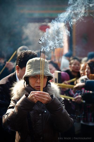 Springtime at the Llama Temple - Beijing