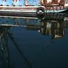 HALF MOON BAY, HARBOR SCENE - REFLECTION