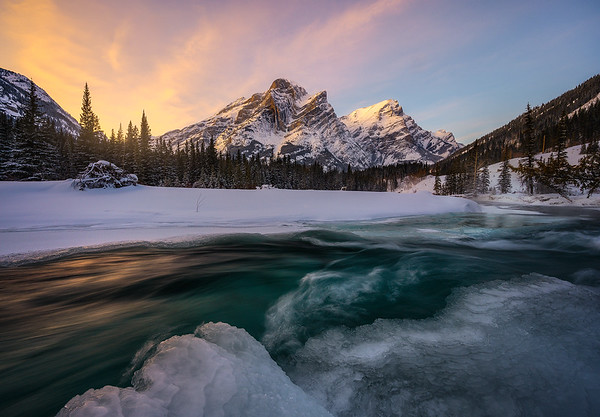 A Beautiful, Cold Morning in the Canadian Rockies