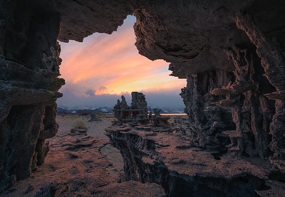 An incredible sunset at Mono Lake, California