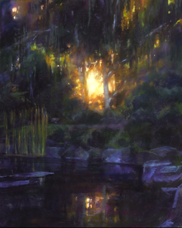 Japanese Garden Sunset