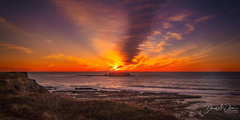 Sunset at Otter Rock