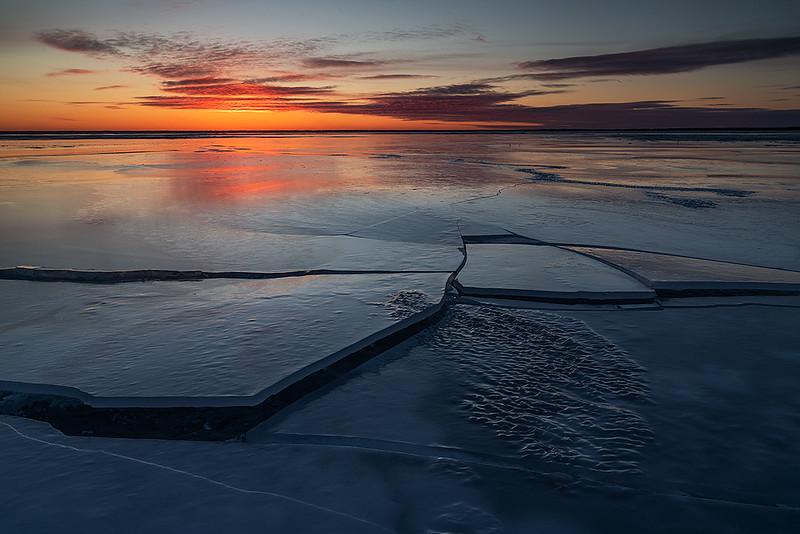 Ice on ice