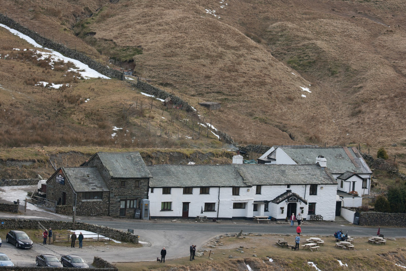 The 3rd highest inn in the UK, where I spent a fab Christmas '96.