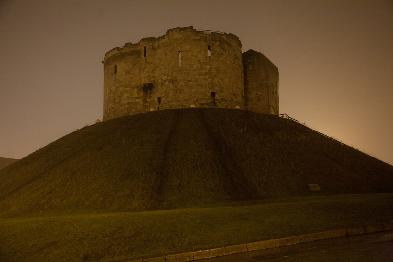 The well photographed York castle.