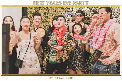 New Year Eve Party 2019 | © www.SRSLYPhotobooth.sg