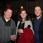 Kevin Borland, Elizabeth Jones Brown and Rob Loftus.