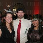 Lauren Hufnagle, James Mattoni and Hema Patel.