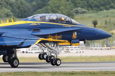 "U.S. Navy Blue Angels ""Wheels Up"" (Sandy Tambone)"
