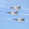 USAF Thunderbirds General Dynamics F-16 Fighting Falcon (Sandy Tambone)