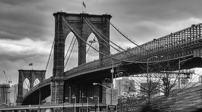 Brooklyn Bridge, January 2017