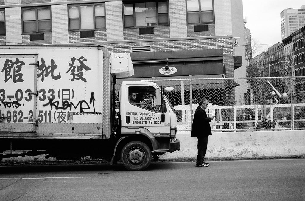 NYC, Upper East Side, February 2010, Tri-X 600, iiif