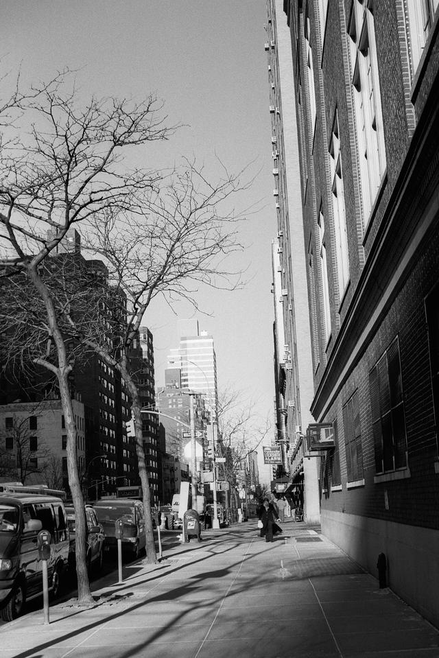 NYC, Upper East Side, January 2010, Tri-X 800, iiif