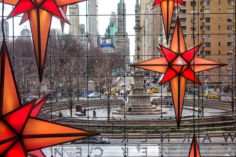Columbus Circle , Time Warner Center Atrium View