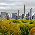 Manhattan Skyline View from MET Roof Garden