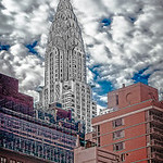 Chrysler Building, Puffy Clouds