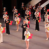 """Union Jack, January 24, 2014 <br><br> Friday's New York City Ballet theme was Balanchine and Robbins: Masters at Work with two one-hour pieces, Robbin's Dances at a Gathering and Balanchine's Union Jack. <br><br> Dances at a Gathering, set to 18 Chopin piano pieces, premiered in 1969. It marked Robbins's return to New York City Ballet after a 13-year absence in which he choreographed many successful Broadway musicals. Before the premier, <a href=""""http://www.pnb.org/AboutPNB/Repertory/DancesGathering.aspx"""">Robbins said:</a> """"I'm doing a fairly classical ballet to very old fashioned and romantic music, but there is a point to it. In a way it is a revolt from the faddism today. I find myself feeling just what is the matter with connecting, what's the matter with love, what's the matter with celebrating positive things?"""" <br><br> This plotless piece features five couples. The ballet has a light, irreverent tone that doesn't take itself too seriously. The steps are basic throughout with an array of combinations to keep things interesting: several solos, duets with various combinations, guys dancing together, women dancing together as dancers come and go throughout the piece. It's informal as if the dancers spontaneously gather as if to say, """"Hey, here I am, let's dance!"""" In one segment, the guys stand in an informal pose, arms on each other's shoulders after a combination, watching what the women can do in their segment. The piece has a number of mazurka steps with exaggerated upper-body movements, a nod to the mazurkas of Chopin's Polish homeland. <br><br> Joaquin De Luz was the dancer in brown (dancers are identified by the color of their costumes in this piece). Joaquin has always been one of my favorites, dating back to his ABT days. I like his athletic style, with powerful pirouettes and leaps, but yet done effortlessly. (One of my favorite Joaquin moments was in Harald Lander's Etudes at ABT, where he ripped off about eight consecutive double tours.) He had several"""