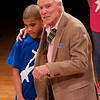 "Jacques d'Amboise at Bank Street College <br><br> I thoroughly enjoyed New York City Ballet great Jacques d'Amboise's presentation at the Barbara Biber Lecture at The Bank Street Graduate School of Education Monday evening. The fast moving hour plus presentation featured dances by students in d'Amboise-founded National Dance Institute (NDI) programs; also, a wide ranging discussion by d'Amboise of his storied career at New York City Ballet, thoughts on the power of dance and the arts in fostering child development, and techniques that NDI uses to teach dance to children. <br><br> The lecture opened with a demonstration by a group of students in the NDI program. d'Amboise founded NDI in 1976, which works with New York City school children through weekly classes, short-term residencies, and public performances. NDI currently partners with 31 New York schools and serves 5,000 children each week from K-6 grades, according to the NDI website. The dance was an energetic, foot stomping American folk dance performed by nine students that reminded me of several dances in Agnes de Mille's Rodeo. This was an Appalachian clog dance, inspired by his 1999 Appalachian Trail hike to fulfill his dream of back-packing the trail and raise money for arts education. He gave a background on the dance, influenced African and Cherokee traditions. <br><br> He then went into a wide-ranging discussion starting with the basis for all arts-dance and architecture: dance, which humans developed to express emotions by controlling how we move through space and time and architecture, involving the ordering of everything. While discussing his philosophy of the arts he digressed with a story of his first role with George Balanchine as Puck in Midsummer Night's Dream while demonstrating a few steps. At age 79, he still has the moves with his poised, elegant dancer build. Also, he made a comparison of the late Maria Tallchief's eloquent dancing feet to poetry. <br><br> As Bank Street is a teaching college, d'Amboise presented techniques on teaching children to dance. Mary Kennedy, a Master Teaching Artist at NDI, and Jerome Korman, Music Director at NDI, accompanied him. For one series of steps, teachers had students imagine they are in the center of a clock followed by instructions to jump to 3 o'clock, 6 o'clock, 9 o'clock and so on. The staff demonstrated this teaching device in several dance sequences with the students. <br><br> How do the teachers deal with students that are slow to catch on? There is not a front row of proficient students and a back row of slower students at NDI. Instead, D'Amboise said-with great passion-that the most important person in class is the one with the most trouble. He and Kennedy demonstrated how other students can help out other students and the process by which they pretend they are dancing in water in an effort to slow down the pace of the dance. <br><br> In book review of d'Ambroise's autobiography ""I Was A Dancer,"" New York Times dance critic Alastair Macaulay quotes a nice passage from d'Ambroise's autobiography that summarizes his view of the importance of dance in young people's lives: <br><br> ""In an affecting passage late in the book, d'Amboise takes three paragraphs to describe what was involved in assisting a boy who, unable to get from his right foot to his left on the music, became terrified and unable to move at all. ""I put my arm around him and said, 'Let's do it together. We'll do it, moving forward, in slow motion.' We did. Then I said, 'Now do it alone, and fast.' With his face twisted in concentration, he slammed his left foot down, directly in front of him, smack on the musical note. The whole class applauded. He was so excited. He was on the way to discovering he could take control of his body, and from that he can learn to take control of his life."" <br><br> In a touching part of the presentation, he recounted his last meeting with his former dance partner Melissa Hayden. In a hospital with cancer, she said to him, ""You came for my last dance."" For the audience, he then presented a memorial to his long-time dance partner consisting of poetry and gestures. <br><br> As with all dances, he closed out the lecture with bows to the crowd and a story of how prima ballerina Alexandra Danilova, who left Russia with Balanchine in the 1920's, greatly improved his bowing technique. After a great performance of Swan Lake followed by subpar bows to the crowd, Danilova took d'Amboise aside and taught him to project to the upper reaches of the audience in grand gestures, followed by an embarrassed ""Aw shucks"" look as he backed away from the crowd. He laughed and waved goodbye to an enthusiastic Bank Street audience. <br><br> d'Amboise was a Principal Dancer with the New York City Ballet for almost 35 years before retiring in 1984. He was also in films such as ""Seven Brides for Seven Brothers"" and ""Carousel."" He received a number of awards for his dancing and work at NDI including a MacArthur Fellowship, a Kennedy Center Honors Award, a National Medal of the Arts, and Honorary Doctorate Degrees from a number of colleges, including Bank Street. For more information, see the <a href=""http://www.nationaldance.org/about_founder.htm""> NDI website,</a> <a href=""http://www.nytimes.com/2011/03/06/books/review/Macaulay-t.html?pagewanted=all"">Macaulay's New York Times review,</a> and <a href=""http://www.theparisreview.org/blog/2011/03/08/jacques-damboise-on-%E2%80%98i-was-a-dancer%E2%80%99/"">The Paris Review.</a> <br><br> <a href=""http://bankstreet.edu/"">The Bank Street College of Education </a> is a private, nonprofit educational institution in the Morningside Heights area of Manhattan, near Columbia University. Bank Street was founded in 1916 by Lucy Sprague Mitchell, the first Dean of Women at the University of California, Berkeley. The college consists of a graduate school and an on-site independent School for Children up to eighth grade. The Barbara Biber Lecture kicks off the school year for incoming students, along with former students and faculty."
