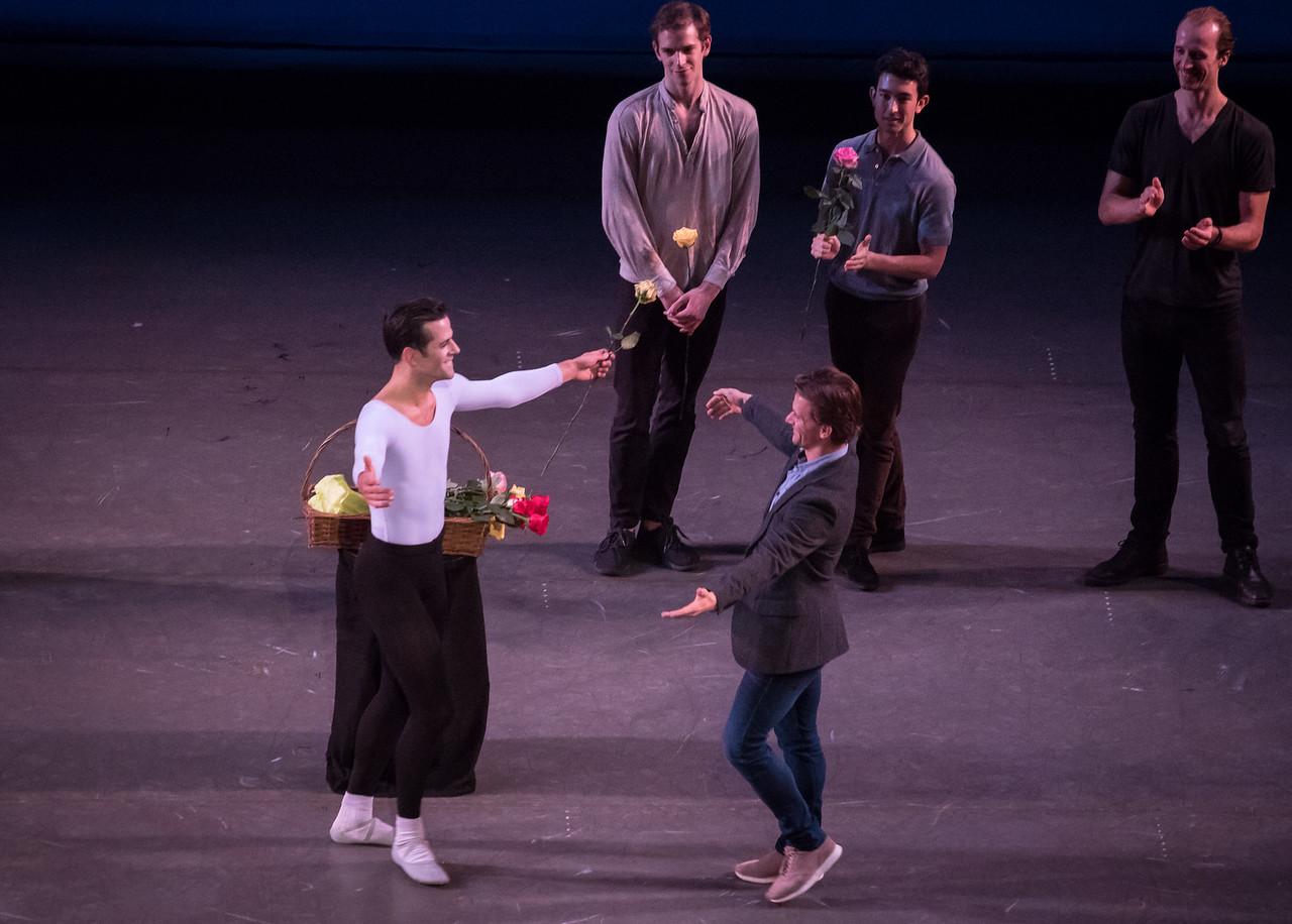 Robert Fairchild and Daniel Ulbright, Fairchild's Final NYCB Performance, October 15, 2017