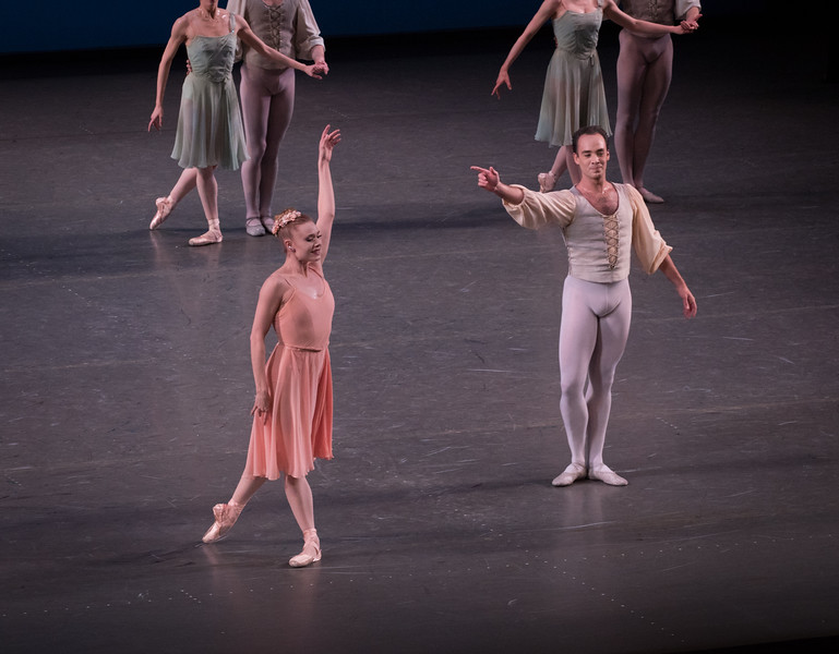 Sarah Mearns and Tyler Angle, Allegro Brillante, January 19, 2017