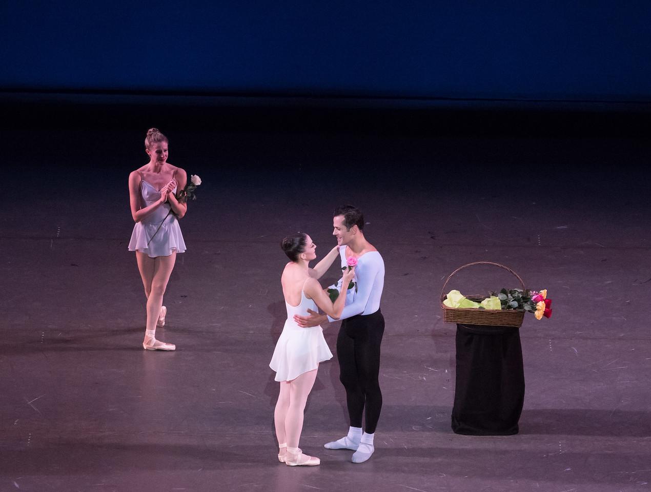 Robert Fairchild and Ashley Bouder, Fairchild's Final NYCB Performance, October 15, 2017