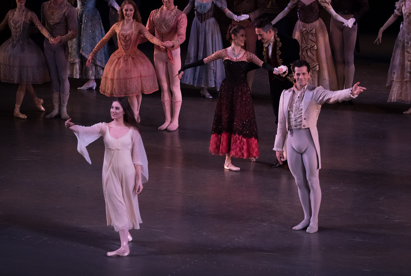 Tiler Peck and Robert Fairchild, La Sonnambula, January  21, 2017
