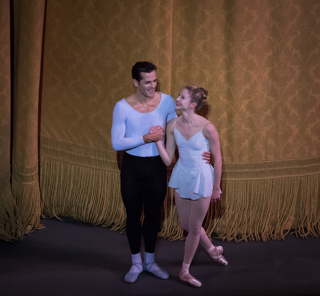 Robert Fairchild and Sterlling Hyltin, Fairchild's Final NYCB Performance, October 15, 2017