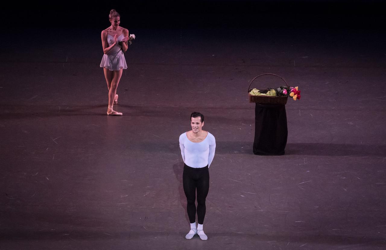 Robert Fairchild and Sterling Hyltin, Fairchild's Final NYCB Performance, October 15, 2017