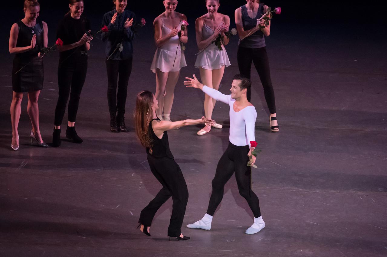 Robert Fairchild and Maria Kowroski, Fairchild's Final NYCB Performance, October 15, 2017