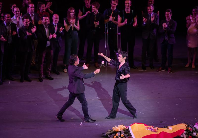David Fernandez, Joaquin De Luz Final NYCB Performance,  October 14, 2018