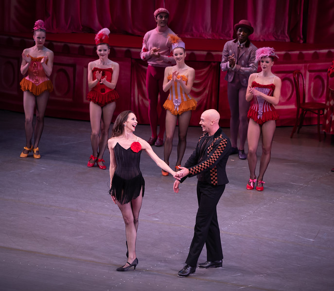Maria Kowroski Final NYCB Performance, Slaughter on 10th Avenue, with Tyler Angle, October  17, 2021