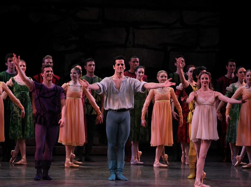Daniel Ulbricht, Robert Fairchild, Sterling Hyltin, Romeo and Juliet, February 26, 2015