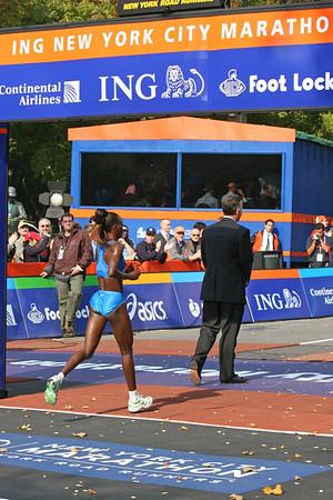 New York City Marathon 2005: Elite