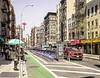 Bicycle Rack and Bicycle Path, Grand Street, NY, NY