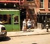 Couple with Takeout Pizza, Mott Street, NY, NY