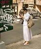 Woman with a Shopping Bag, Spring Street, NY, NY