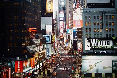 The Great White Way Broadway at Times Square