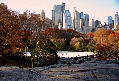 The Wollman Rink in Central Park