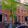 Brownstones in Greenwich Village