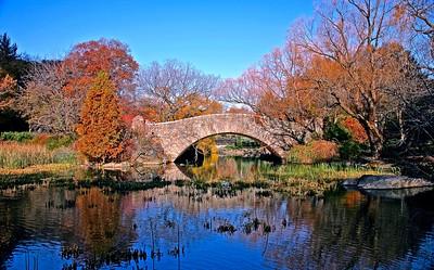 The Beautiful Gapstow Bridge in Central Park