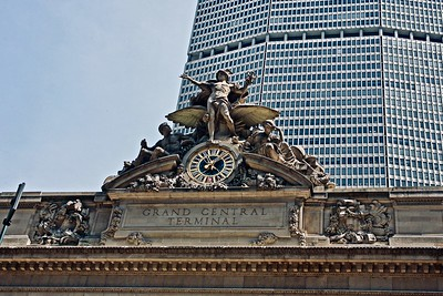 Glory of Commerce, a sculptural group by Jules-Félix Coutan