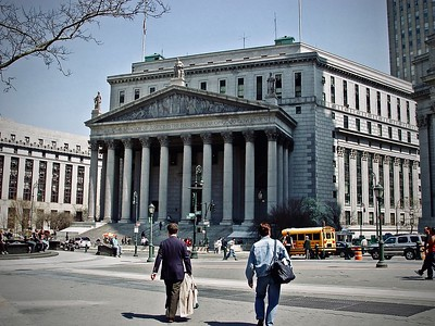 New York County Courthouse in Foley Square