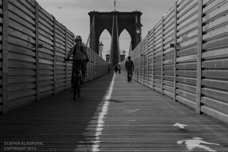 Brooklyn Bridge Crossers (May 2012)