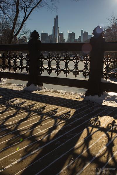View from Oak Bridge