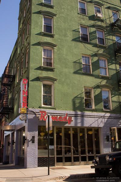 Corner Diner in the Lower East Side
