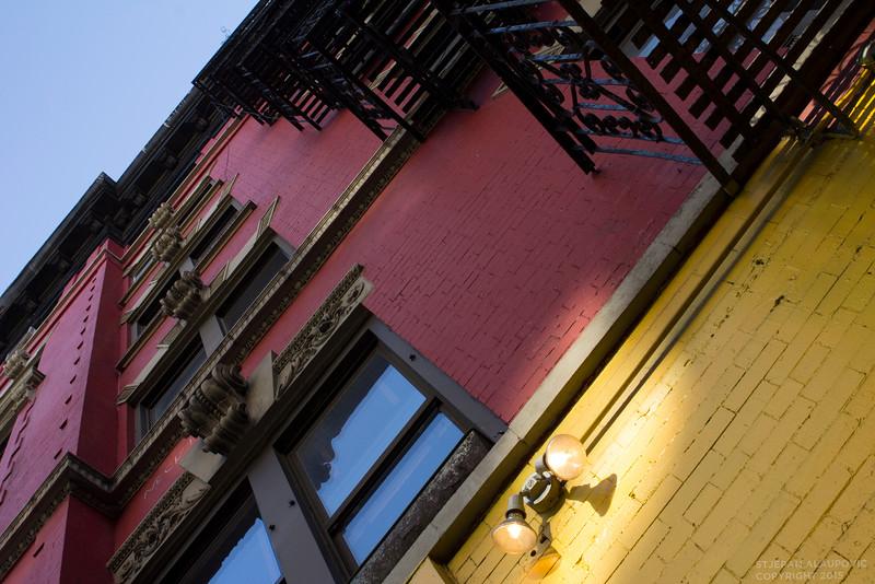 Buildings in the Lower East Side