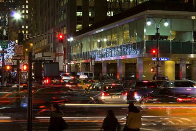 Park Avenue at Night (December 2014)
