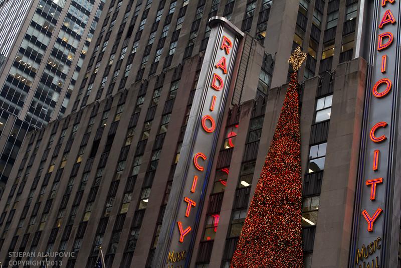 Radio City Music Hall Christmas 2013