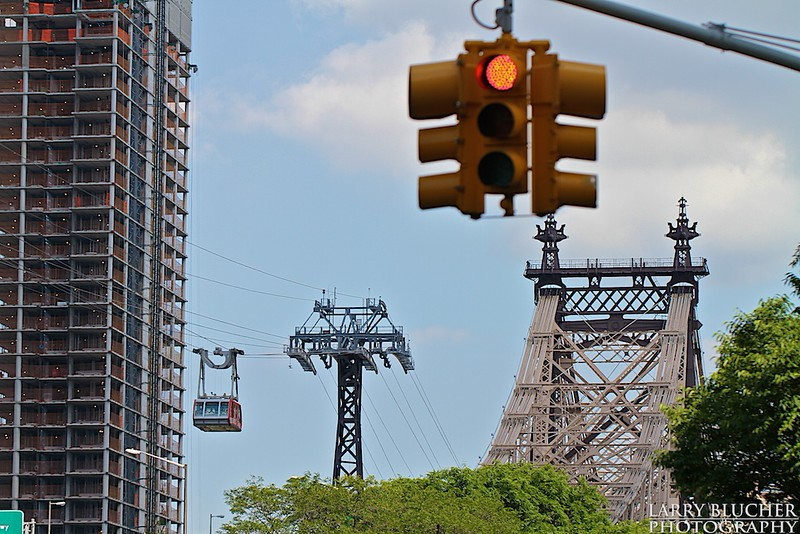Roosevelt Island Tram-59th st Bridge aka Queensboro Bridge. Recently named Ed Koch Bridge.
