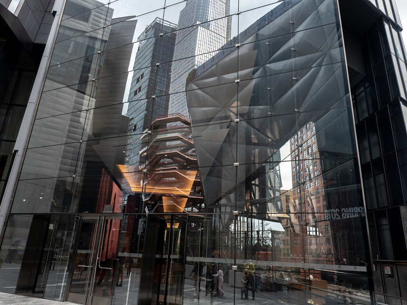 Hudson Yards reflections
